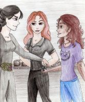Hylla, Kinzie and Hazel by Clarit
