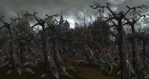 Halloween Forest for XPS by Fuzzy-Moose