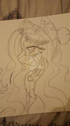 drawing of my oc by rosemoon2112