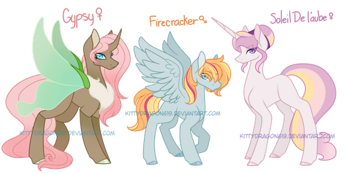 Crackship Next Gen Adopt Batch #8 (Closed) by KittyDragon619