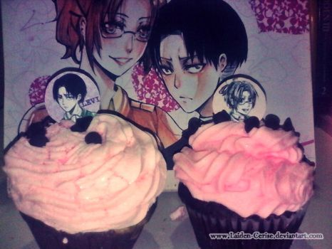 My LeviHan Cupcakes by Laiden-Cerise