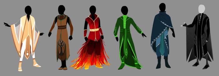 Dulcedomum- Elemental Robes by Nisassa