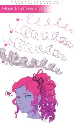 How to Draw Curls by wysoka