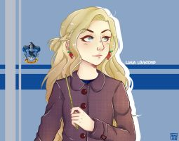 Luna Lovegood by berylette