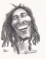 Bob Marley by monx-art