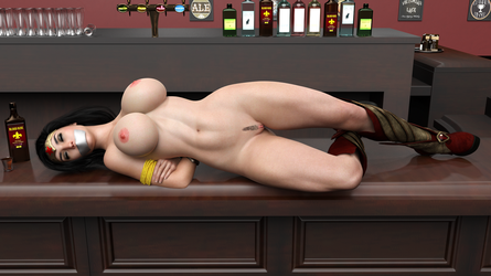 Wonder Woman in the morning after by HeroineAdventures