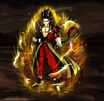 Vegetto Xeno SS4 by Haikurasu-Vegetto