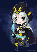 Chibi Ashe - League of Legends by linkitty
