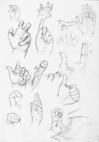 Body studies - hands by bizoruazul