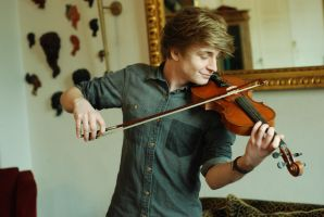 Male Violin Stock 5 by BirdsistersStock