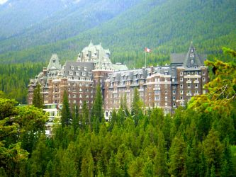 The Banff Springs Hotel by WillowAustin