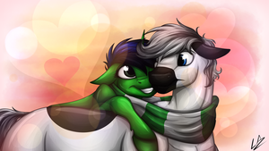 Cuddle Huggles by LupiArts