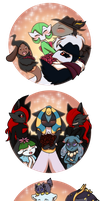 PKMN Monthly Theme  Mother's Day Challenge by DevilsRealm