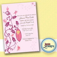 Custom Fairy Baby Shower Invite by Jesarie