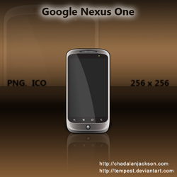 Google Nexus One Icon by ChadJackson