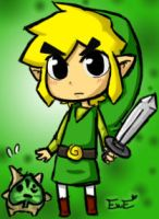 Link and Makar by EweRox