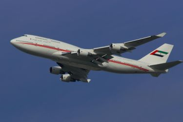 United Arab Emirates ( Dubia Air Wing) 747-433m by hanimal60