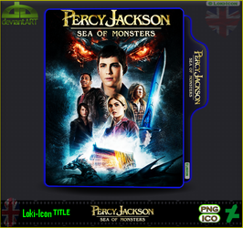 Percy Jackson Sea of Monsters (2013) by Loki-Icon