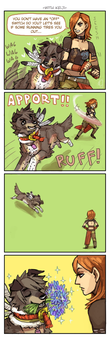 Let's Play Fetch - XII by emlan