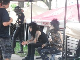 Black Veil Brides Backstage by BVBReady