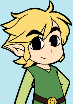 Link without his hat by Scourgey-ouo