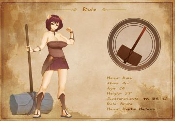 Character Sheet - Rulo by AG-Publishing
