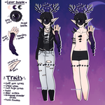 October Adopt - Punk Dark Tree [CLOSED] by hello-planet-chan