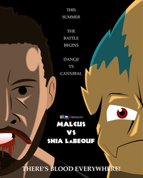 [Croc's Swamp Gang] Malcus vs Shia LaBeouf by CK-was-HERE