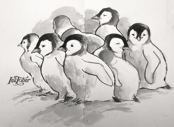 penguins by mojo123s