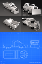 Command and Conquer Generals - GLA Bomb Truck by LeetZero