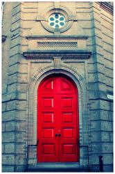 I See a Red Door by off-with-his-head