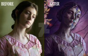 Broken...but Whole- Before/after by SummerDreams-Art