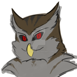 Owl Enigma Bust - New face by LeoCronis