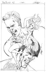 True Blood cover 2 Pencils by J-Scott-Campbell