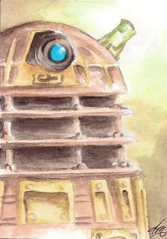 Light of the Dalek, Original Dr Who Fan Art by GodsDreamer