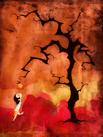 The Tangerine Tree by MadSketcher