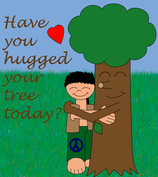 Tree Hugger by treehuggerplz