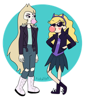 bad blondes by Tinkalila