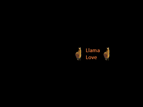 Llama Love Screensaver by dncube