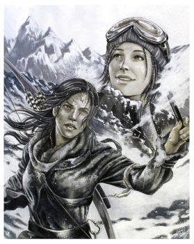 Rise Of the Tomb Raider - Discover by Hollow-Moon-Art