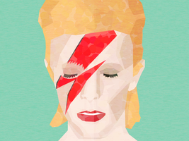 RIP David Bowie by apparate