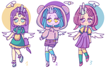 Cheap Adopts : Flying crystals (2/3 OPEN) by Super-Gabou