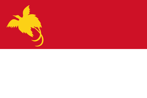 Flag of Papuan Malay language by hosmich