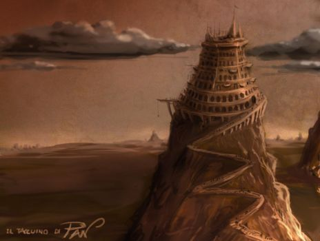 Tower of Babel II by Panaiotis