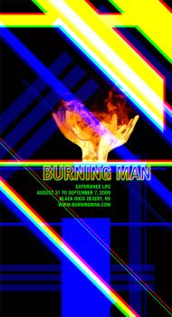 Event Posters - Burning Man 3 by Jandalf