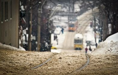 Hard Winter in Iasi by sagefille20