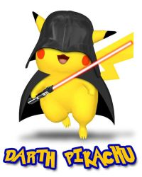 Darth Pikachu by anomalyconcept