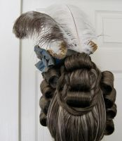 18th Century Wig + Hat 3 by AlAlNe
