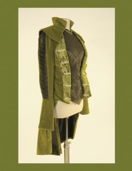 Green Coat by AncientGrove