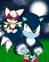 Sonic and Chip by AutoTFNT979
